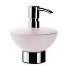 【麗室衛浴】德國Emco 頂尖浴室配件  抬面皂液機  鉻色 1021.001.00(門市樣品出清價)