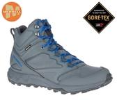 丹大戶外【MERRELL】美國 男款 GORE-TEX多功能防水透氣健行登山鞋 ML035155 深灰/寶藍