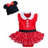 迪士尼 萬聖節 包屁衣 Disney 紅黑米妮造型包屁衣+帽子 套裝2件組 440109699994