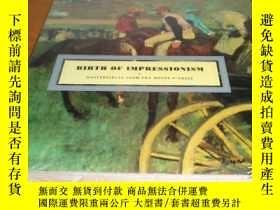 二手書博民逛書店BIRTH罕見OF IMPRESSIONISM: Masterp