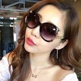 2018新款太陽鏡女潮圓臉長臉明星款 墨鏡女方臉韓版前衛優雅個性 美芭