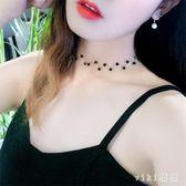 韓版短款簡約脖頸項圈項鏈女學生森系頸鏈鎖骨鏈脖子飾品頸帶 nm5073【VIKI菈菈】
