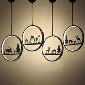 北歐小吊燈床頭個性創意過道玄關藝術餐廳現代簡約陽台吧台吊燈具 元宵鉅惠 限時免運