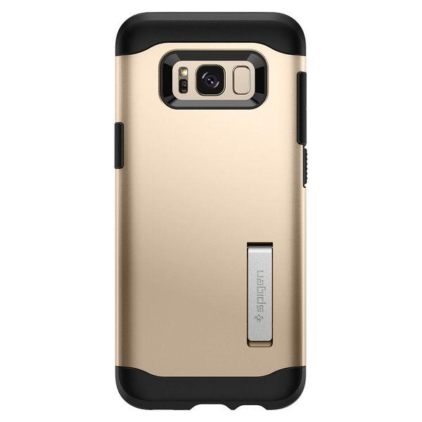 【免運】SGP Samsung S8 S8 Plus Slim Armor 支架款 雙層耐衝擊保護殼 手機殼 手機支架 三星 Spigen