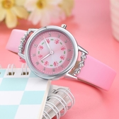 兒童手錶 兒童手錶女指針式防水防摔女童卡通幼兒小孩寶寶女孩小學生電子錶 薇薇