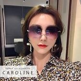 《Caroline》年度最新網紅款潮流行百搭抗UV時尚太陽眼鏡 72507
