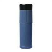 Austin Shine 可拆換芯骨瓷保溫杯組雙內膽350ml 藍