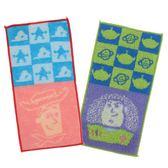 【京之物語】日本迪士尼玩具總動員100%純棉吸水隨身口袋巾 兒童適用 毛巾-預購商品