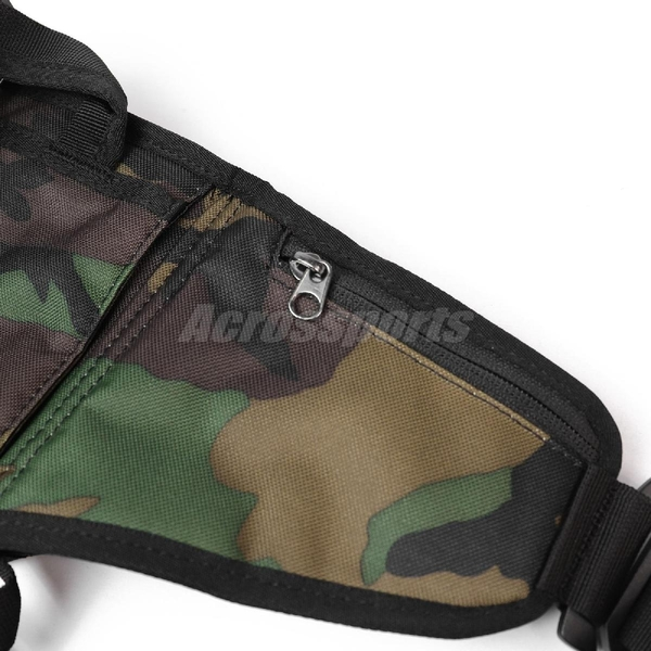 Nike 腰包 SB RPM Hip Pack 黑 迷彩 Camo 男女款 斜背包 滑板系列 【ACS】 CZ1865-010