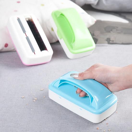 ◄ 生活家精品 ►【S55】雙滾輪防靜電滾刷 床 沙發 除塵 毛髮 清潔 寵物 沾黏 除毛 灰塵 紙屑