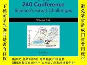 二手書博民逛書店Proceedings罕見of the 240 Conference: Science s Great Chall