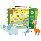 美樂兒童靜電貼紙貼畫幼兒童趣味卡通貼紙書益智免膠玩具2-3-5歲
