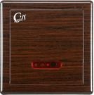 【台灣吉田】AC-503 木紋色面板 埋壁式 隱藏感應沖水器 小便斗專用