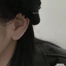 bolo簡約一款兩戴耳夾女港冷淡風ins個性幾何復古愛心無耳洞耳環 極簡雜貨