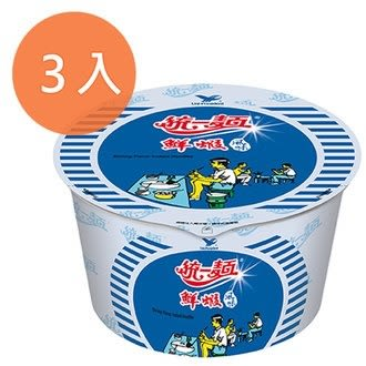 統一麵 鮮蝦風味 83g (3碗入)/組【康鄰超市】