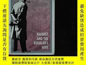 二手書博民逛書店SIMENON罕見MAIGRET AND THE BURGLAR