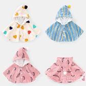 新年鉅惠 嬰童披風外套秋冬裝新品兒童寶寶男童嬰幼兒上衣1歲小童斗篷Y4154