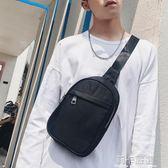 防水胸包 2018新款韓版男包 牛津帆布胸包單肩包後背包潮流小挎包   莉卡嚴選
