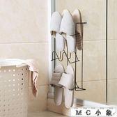 鐵藝壁掛式鞋架家用多層收納鞋架