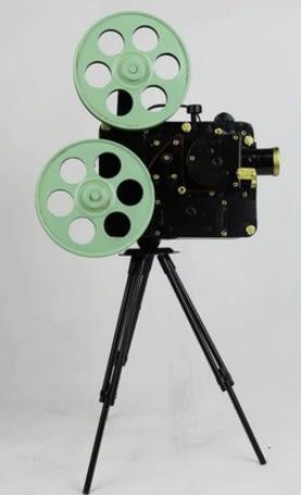協貿國際複古電影放映機擺件1入