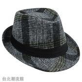 秋冬季時尚紳士帽爵士帽韓版 男女英倫復古禮帽 舞台帽 老人禮帽
