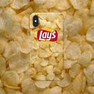 [ 定制手機殼 ] iPhone × SAMSUNG 可掛繩 酷酷殼 樂事洋芋片 黑邊軟殼