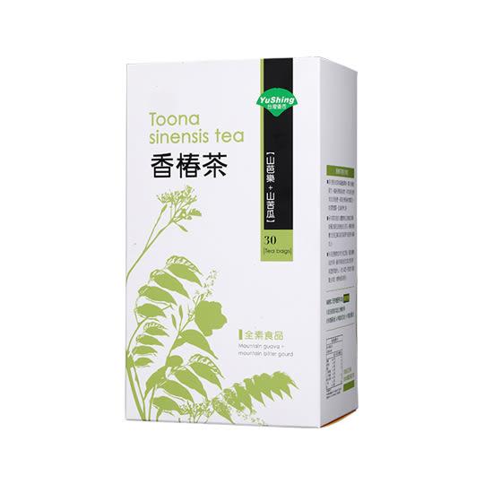 優杏 香椿茶 30包/盒 無咖啡因 山芭樂+山苦瓜