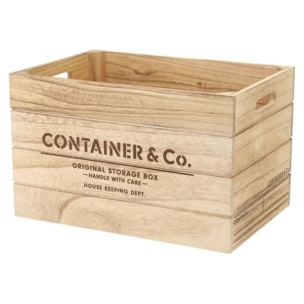 木製收納盒 SHACK2 寬高型 標準型 NA NITORI宜得利家居