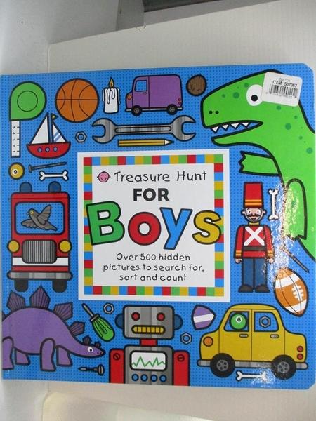 【書寶二手書T6/少年童書_D8A】Treasure Hunt for Boys_Emma Surry
