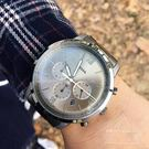 FOSSIL美國品牌NEUTRA極品紳士三環計時時尚腕錶FS5492原廠公司貨