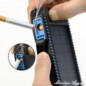 太陽能移動電源 大容量防燃多功能行動電源點煙器 街頭布衣