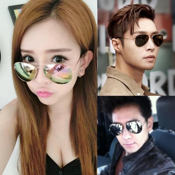 墨鏡女Ins韓版潮流太陽眼鏡偏光防紫外線男士網紅街拍款眼睛