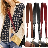 包帶配件頭層牛皮寬肩帶單肩側背可調節2021新款時尚女包帶子  夏季新品