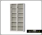 {{ 海中天休閒傢俱廣場 }} F-99 摩登時尚 HDF 多功能置物櫃系列 HDF-2500 開放式十二人用置物櫃