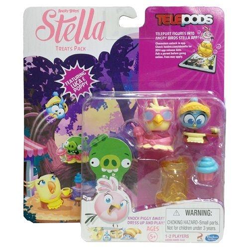 【孩之寶流行玩具】憤怒鳥 - 粉紅史黛拉好友角色多入組  Treats A9208