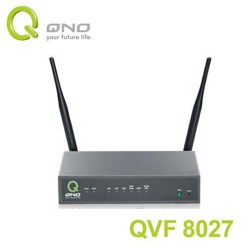 QNO QVF8027 300Mbps 雙WAN 無線 廣告 路由器