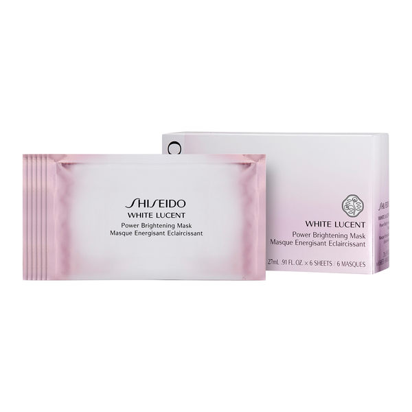 Shiseido 資生堂 White Lucent 透白面膜 1box, 6pcs