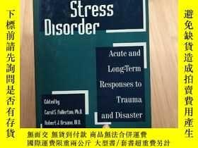 二手書博民逛書店Posttraumatc罕見Stress Disorder 創傷後的精神失調Y171144 見圖 見圖 出版
