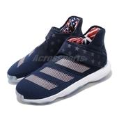 adidas 籃球鞋 Harden B/E 3 FIBA USA 深藍 紅 星星 美國隊 男鞋 【PUMP306】 EG1540