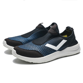 PONY 黑 湖水藍 襪套 網布 輕量 透氣 慢跑鞋 男 (布魯克林)  73M1SP93BK