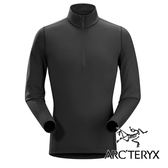 Arc'teryx 始祖鳥 男 長袖立領排汗保暖上衣『黑』16261