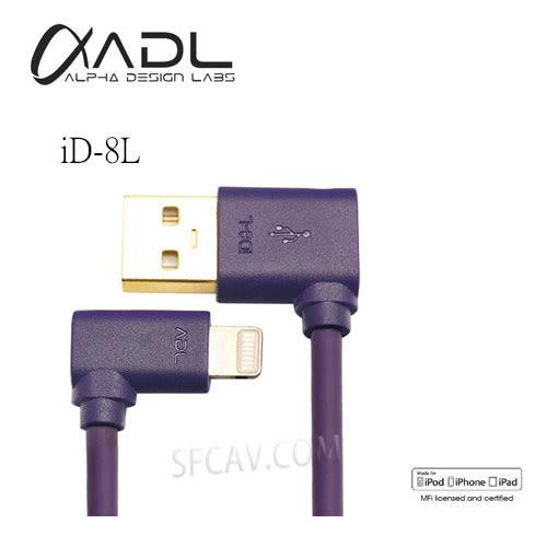 【勝豐群音響新竹】FURUTECH ADL iD-8L Lightning Connerctor to USB A for iPHONE5 L型