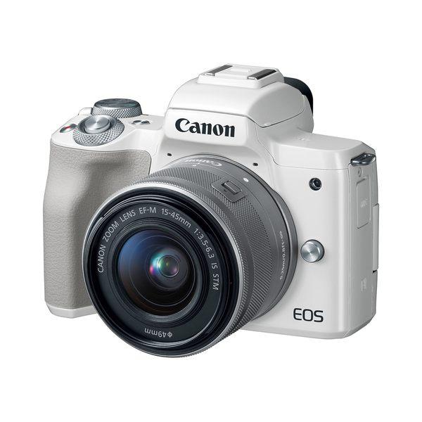 【聖影數位】Canon EOS M50 [15-45mm 單鏡組] 公司貨 微單眼相機 無反