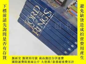 二手書博民逛書店The罕見Lord Of The Rings【7本全 32開 英