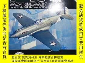 二手書博民逛書店罕見孤本 P-40 Warhawk in detail & scale, Part 1: Y1P-36 throu