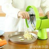 商用檸檬水果蔬菜切水果神器手動多功能切菜機土豆生姜水果切片機YYJ   MOON衣櫥