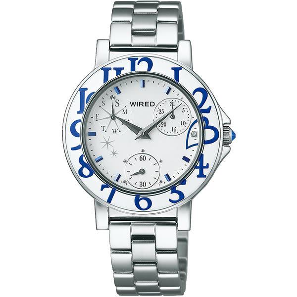 WIRED F 15周年限定款女錶-銀/33mm VD76-KH80S(AP5025X1)