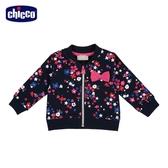 chicco-To Be BG-滿底印花朵+星星休閒外套