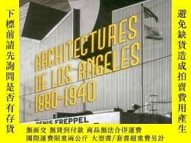 二手書博民逛書店Architecture罕見de Los Angeles: 18