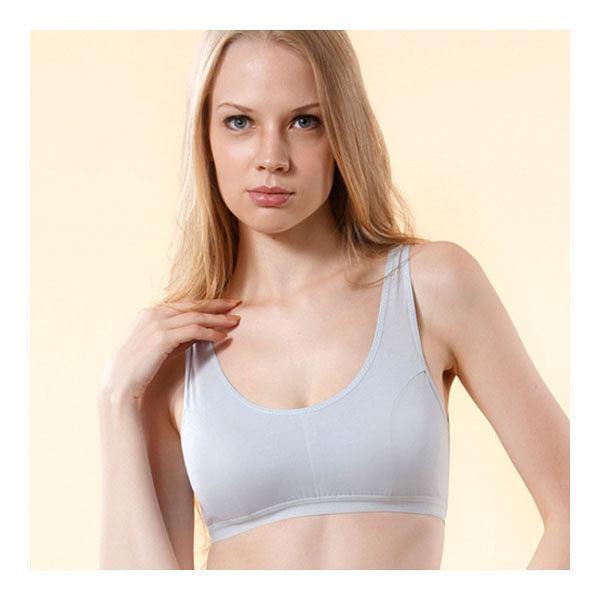 LOHAS 冰涼天絲棉 機能型運動內衣 (附胸墊)-水藍-XL【屈臣氏】